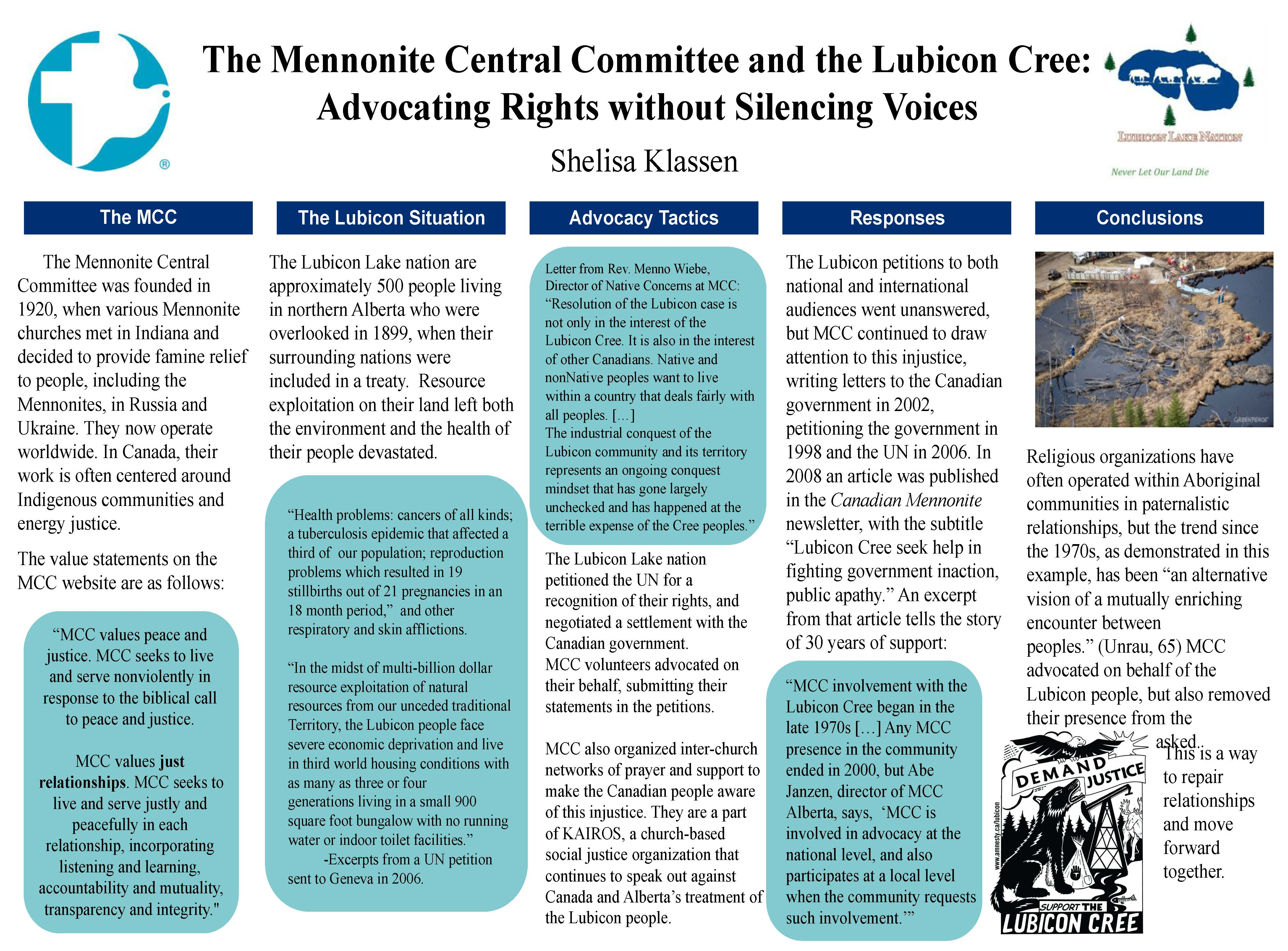 Mennonites and Canadian Indigenous Peoples