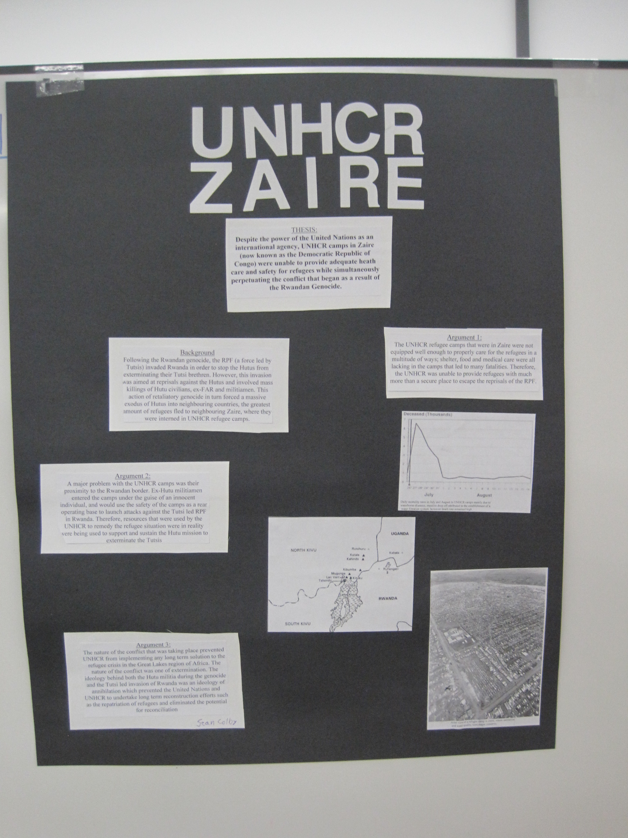 The UNHCR inZaire