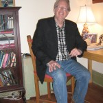 David Cayley in his house in Toronto, 2013 -  Photo by Will Tait