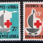 South African Red Cross centenary stamp, 1963