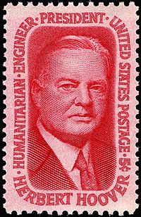 Herbert_Hoover_commemorative_stamp_5c_1965_issue