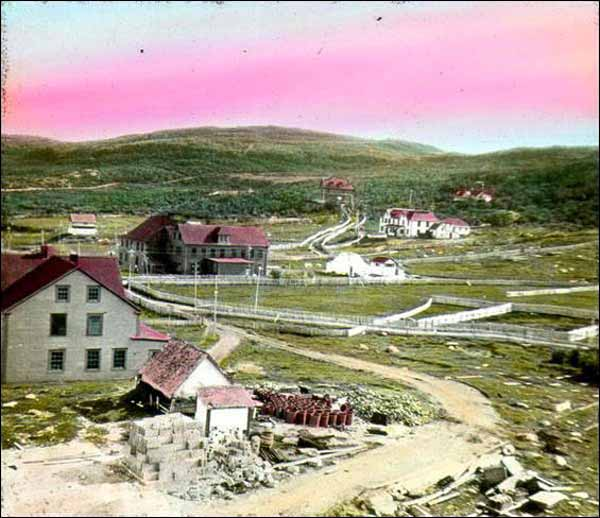 St. Anthony, ca. 1920 The Grenfell Mission established a presence on Newfoundland's Northern Peninsula when it opened a year-round hospital at St. Anthony in 1901. The community became mission headquarters and Grenfell opened an orphanage and undenominational school there in 1904 and 1909, respectively. Photographer unknown. Reproduced by the permission of the Maritime History Archive (PF-323.011), Memorial University, St. John's, NL.